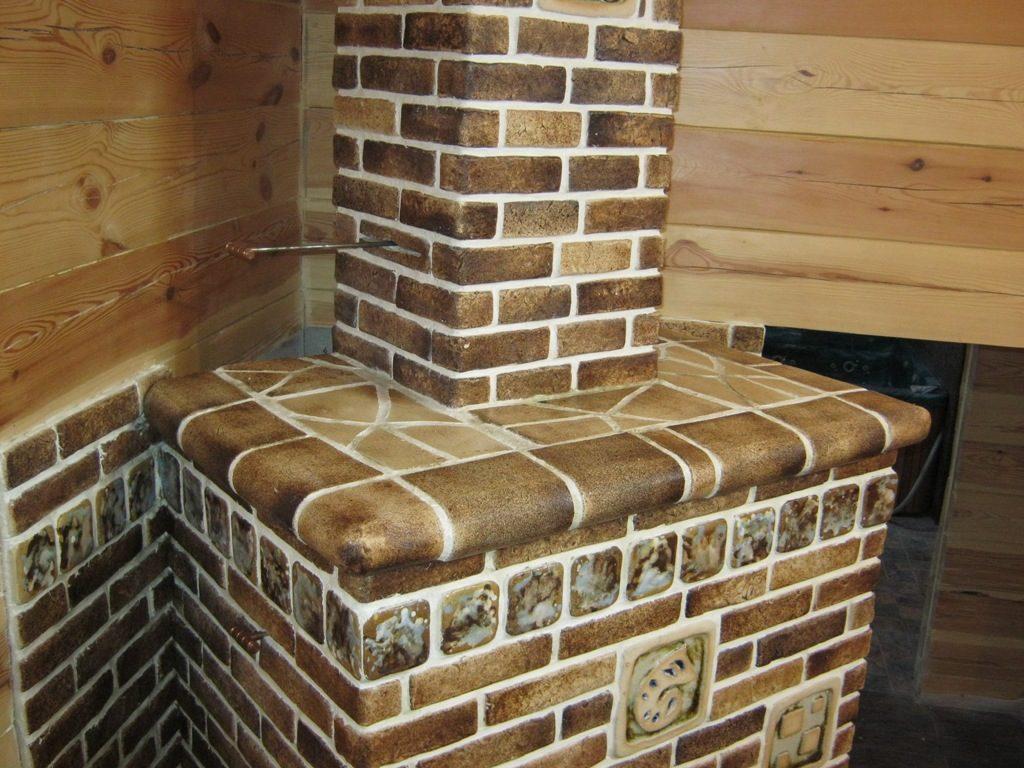 Облицовочные материалы, используемые для отделки печей и каминов