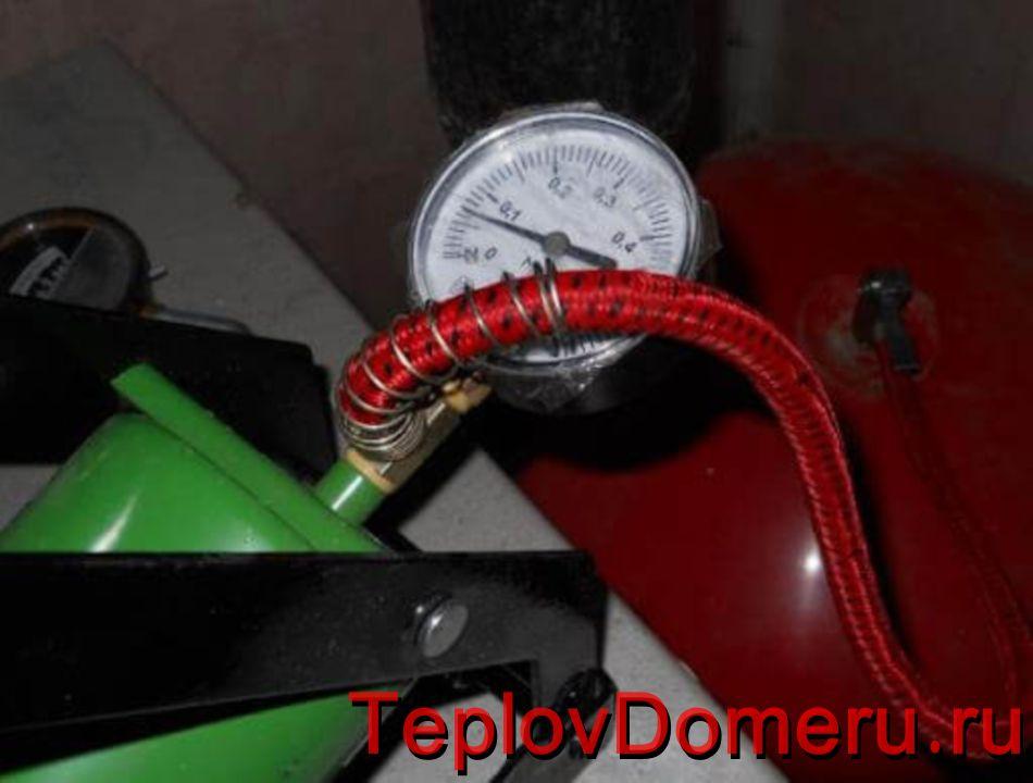 Какое давление должно быть в газовом котле и расширительном бачке