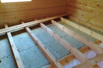 Пол по лагам в деревянном доме